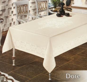 Скатертина тефлон Maison Royale 160*350 Dore Cream