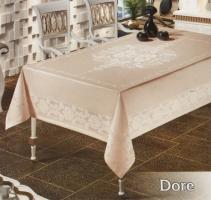 Скатертина тефлон Maison Royale 160*350 Dore Cappucino