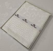 Скатертина тефлон Maison Royale 160*300 Ivy White