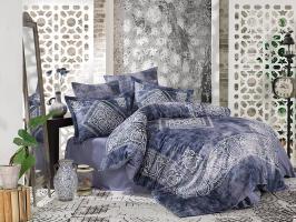 Постельное белье Dantela сатин 200x220 Grace Blue
