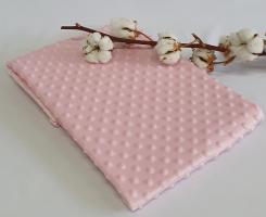 Плед детский с пупырышками розовый