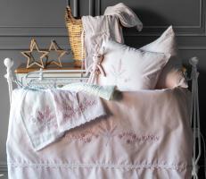 Детский набор в кроватку Abby Pupilla Collection Pudra