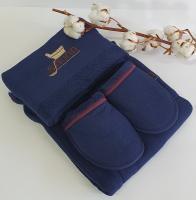 Набор для сауны мужской Maison D'or Dufour Синий (Navy Blu)