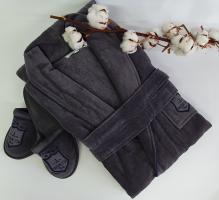 Халат мужской Maison D'or Boswell Grey XL