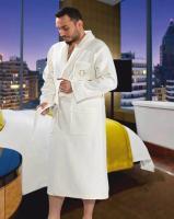 Халат мужской Maison D'or Quattro White S Белый