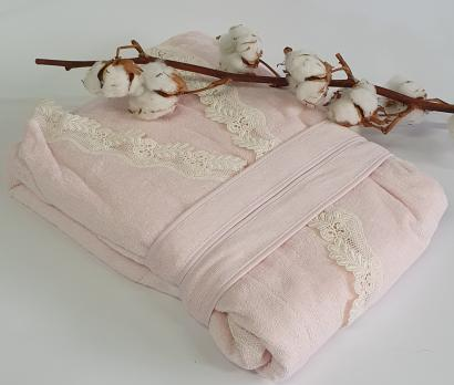 Халат женский Maison D'or Dina Longtemps Pink S