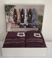 Полотенца Maison D'or 3шт Alain Purple