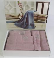 Полотенца Maison D'or 3шт Bonni Lilac