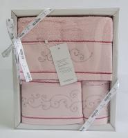 Набор полотенец Maison D'or 3 шт Dalliy Pink