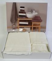 Набор полотенец Maison D'or 3 шт Melissa Cream