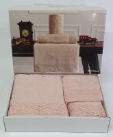 Набор полотенец Maison D'or 3 шт Naturella Rosa