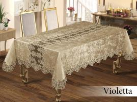 Скатерть Велюр Maison Royale 160x220 Violetta Cappucino
