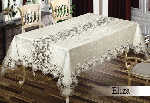 Скатерть Велюр Maison Royale 160x220 Eliza Cream