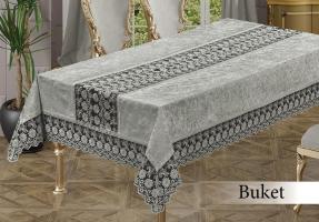 Скатерть Велюр Maison Royale 160x220 Buket Grey