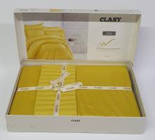 Постельное белье CLASY страйп-сатин 160x220 см Sari