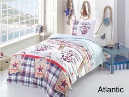 Постельное белье Altinbasak ранфорс 160x220 Atlantic