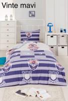Постельное белье Altinbasak ранфорс 160x220 Vinte mavi