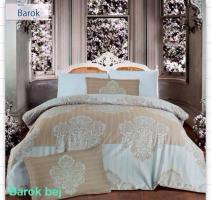 Постельное белье Altinbasak сатин 200x220 Barok bej