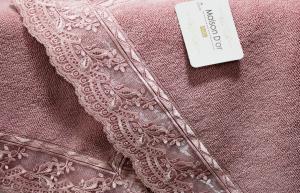 Полотенце-коврик для ног Maison Dor Reyna 50x80 Rose