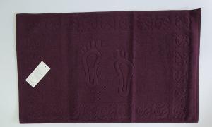 Полотенце-коврик для ног Maison Dor Steps 50x80 Bordeaux
