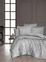 Постельное белье First Choice сатин 200x220 Advina Gri