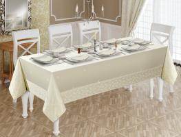 Скатерть с салфетками Set Maison D'or 160x270 см + 8 салфеток Katlamali Tas