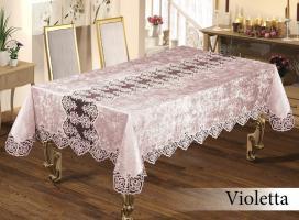 Скатерть Велюр Maison Royale 160x300 Violetta Powder