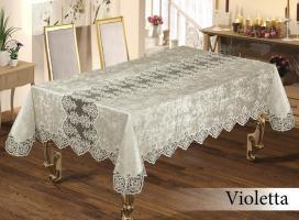 Скатерть Велюр Maison Royale 160x350 Violetta Cream