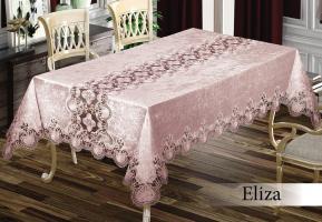 Скатерть Велюр Maison Royale 160x220 Eliza Powder