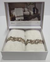 Набор полотенец Pepper Home Jessica Cream 2шт 30*50