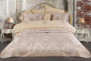 Набор покрывало с постельным бельем Ayberk Aygun Bej