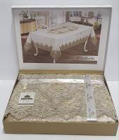 Скатерть Велюровая Maison Royale 160x220 Elizabeth Cappucino