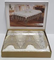 Скатерть Велюровая Maison Royale 160x220 Mai Paris Cream
