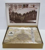 Скатерть Велюровая Maison Royale 160x220 Fatima Cappucino