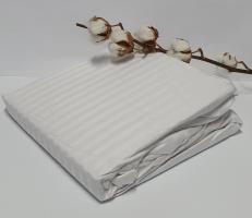 Простынь на резинке с наволочками AE Cotton 180x200 Белая