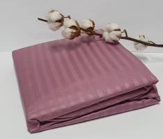 Простынь на резинке с наволочками AE Cotton 180x200 Фиолетовая