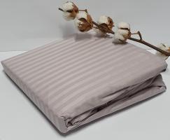 Простынь на резинке с наволочками AE Cotton 180x200 Лиловая