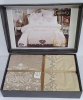 Набор покрывало с постельным бельем Ayberk Dilan Bej