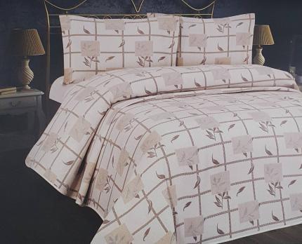 Покривало Minteks Afrodit Kahve-Bej 240x260