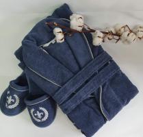 Халат мужской Maison D'or Seymour Blue S