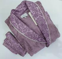 Халат женский Maison D'or Rose Marine Dark Lilac S