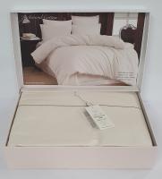 Постельное белье Maison D'or ранфорс Richmond Cotton 200х220 Ecru