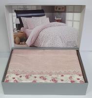Постельное белье Maison D'or ранфорс Maiolaine  200х220 Pink