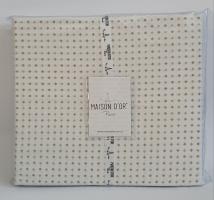 Простинь+наволочки 180x200+50х70 ранфорс Deluxe Maison Dor Damien Beige