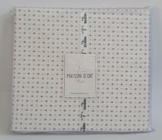 Простинь+наволочки 180x200+50х70 ранфорс Deluxe Maison Dor Damien Lilac