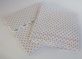 Простинь+наволочки 180x200+50х70 ранфорс Deluxe Maison Dor Daisi Lilac