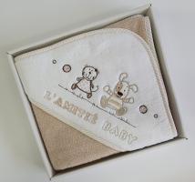 Рушник дитячий Maison D'or Lamite 76x76 Beige