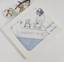 Рушник дитячий Maison D'or Lamite 76x76 Blue