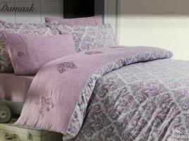 Постельное белье Maison D'or сатин 200х220 New Damask Dark Rose