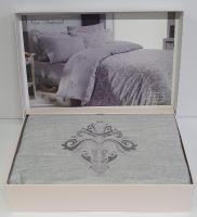 Постельное белье Maison D'or сатин 200х220 New Damask Grey